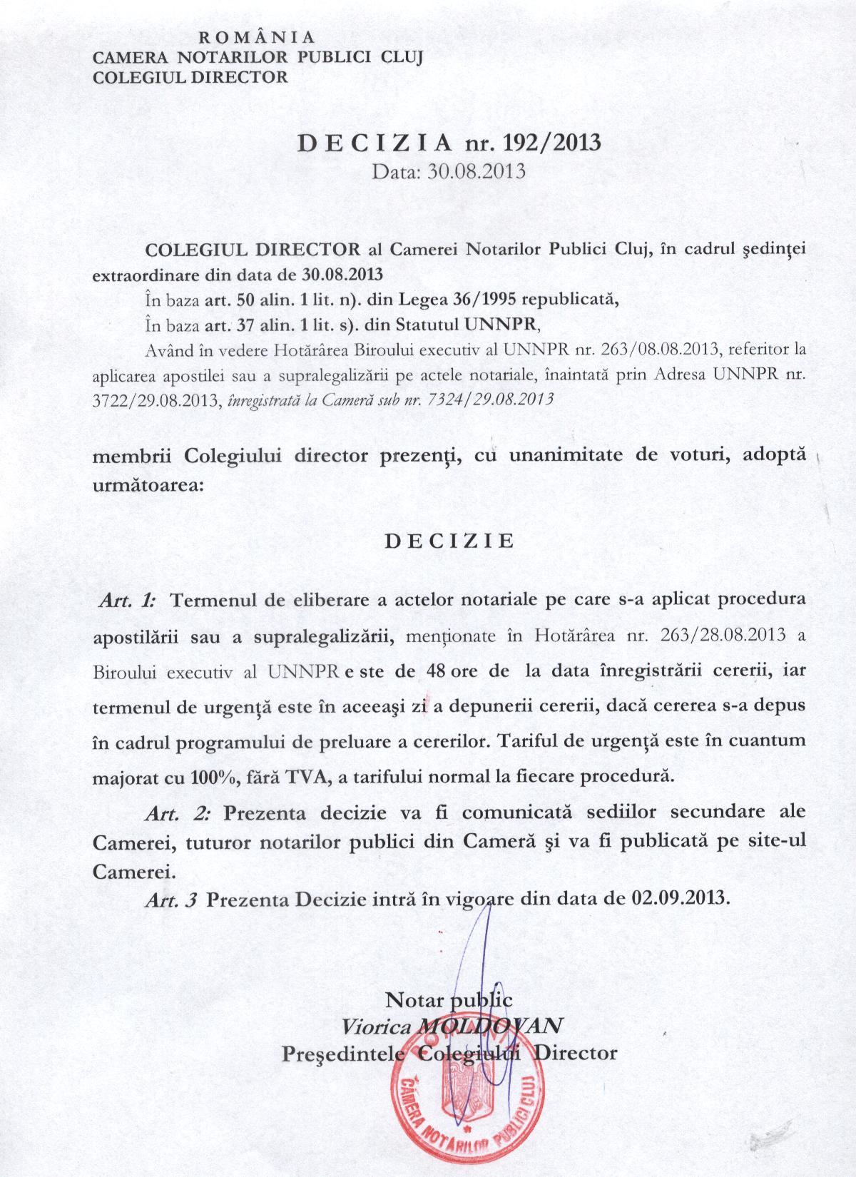 LEGE nr din 12 mai Legea notarilor publici şi a activităţii notariale